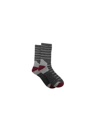 Universal Traveller grey Universal Traveller Unisex Wool Tech Socks - SKW 9248 34F87AA0B4EF6CGS_1