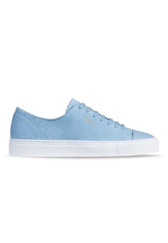 Axel Arigato Cap-toe Sneaker 藍色麂皮搭配皮製鞋頭 4F408SHA8A5364GS_1