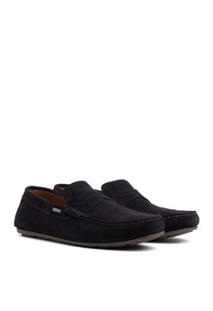 6bf55307f2a290 Tommy Hilfiger. CLASSIC SUEDE PENNY LOAFER
