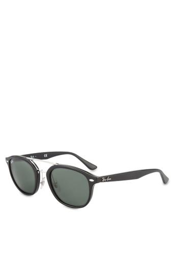 Ray-Ban 黑色 RB2183 Sunglasses RA896GL86GRTMY_1