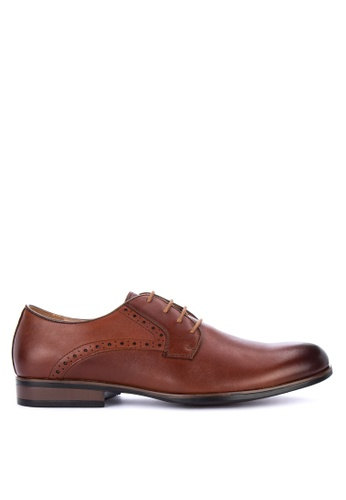 Gibi brown WAX 004 Formal Shoes 554C9SH153C1CBGS_1