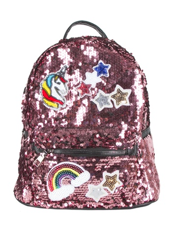 Adkidz pink Adkidz Sequin Unicorn Backpack 19B2BKCBAEA58EGS_1