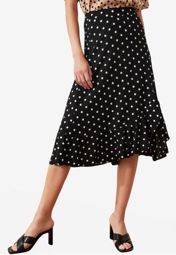 Trendyol multi High Waist Floral Print Midi Skirt A6B1CAA04DB1E3GS_1
