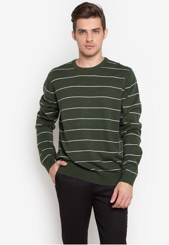 Joe Fresh green Cotton Blend Sweater JO088AA0JZA8PH_1