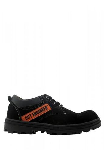 Cut Engineer black Cut Engineer Safety Low Boots Classic Leather Black CU226SH51HOYID_1