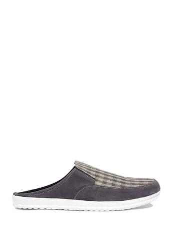 Dr. Kevin grey Dr. Kevin Mens Bustong Sandals 1638 - Grey DR982SH0US9WID_1