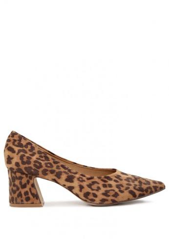 London Rag brown Block heel pumps 1B3ABSH1AC1DECGS_1