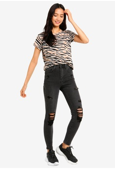 33c15e30f8a5d3 29% OFF Supre The Premium Skinny Destroyed Jeans S  55.00 NOW S  38.90  Sizes 4 6 10 12 16