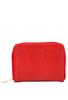 Zip-Down Wallet with Sidecolor Combi