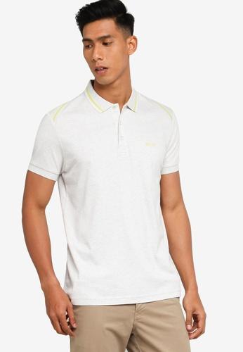 BOSS 灰色 Paule Polo Shirt 6CD38AAFBF63FBGS_1