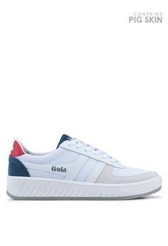 a24e848e2c Gola white Grandslam Mesh Sneakers 5FE62SHD895FD1GS 1