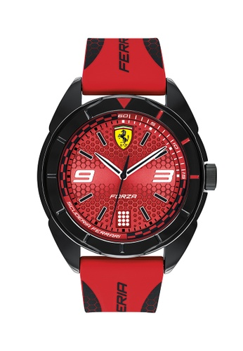 Scuderia Ferrari red Scuderia Ferrari Forza Red Men's Watch (830517) 81F55ACA87E16DGS_1
