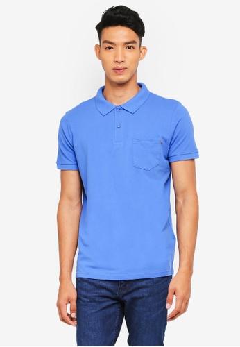 Cotton On blue Icon Polo Shirt 39783AA6694494GS_1