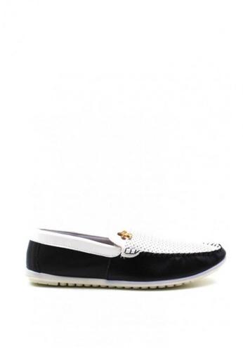 London Fashion black Gru D12 Formal Shoes F449ASHFF01408GS_1