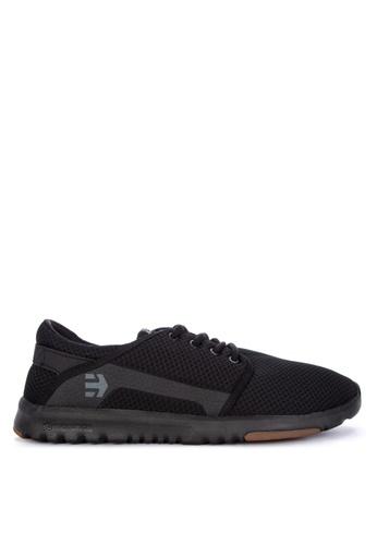 Etnies black Scout Sneakers 79706SH4BBF850GS_1