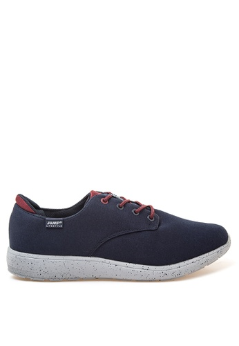 Jump navy Glitter Sneakers JU701SH17YZUPH_1