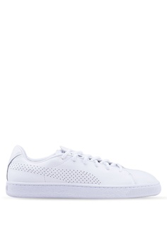 36de1f67ce Puma white Basket Crush Perforated Women's Sneakers A0AE9SH85DAFDBGS_1