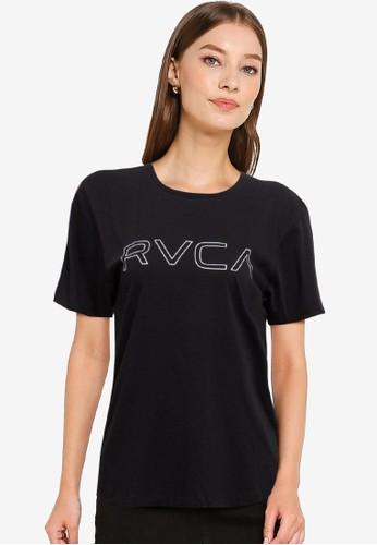 RVCA black Keyline Box Tee BF082AA4C61BB7GS_1