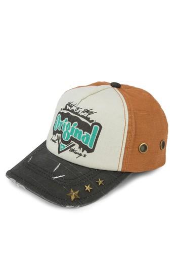 撞色拼接鴨舌帽, 飾品配件esprit招聘, 帽飾