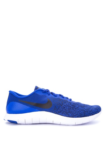 Nike blue Men's Nike Flex Contact Running Shoes NI126SH0STSPMY_1