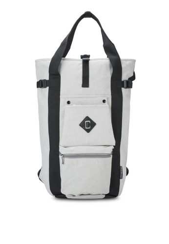 Chocollection grey Louis 2-Way Backpack CH825AC31GTKHK_1