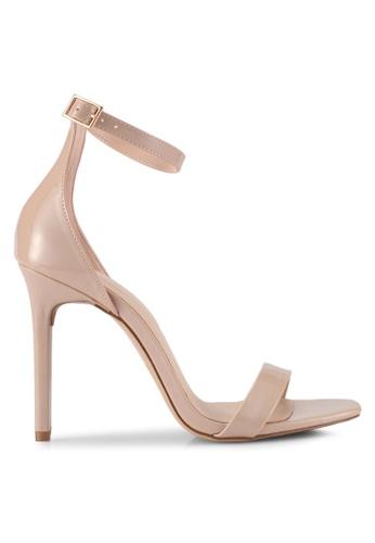 ALDO beige Derolila Heeled Sandals 34877SH88553D9GS_1