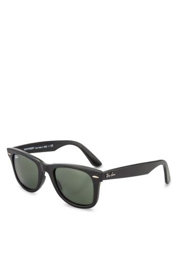 59efa365b577c Buy Ray-Ban Wayfarer Ease RB4340 Sunglasses Online on ZALORA Singapore