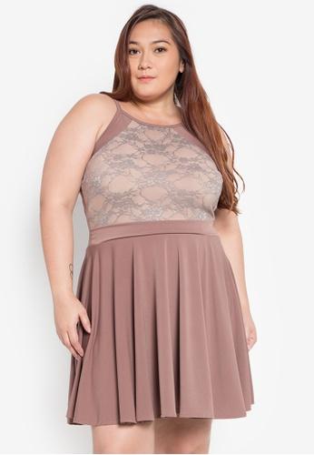 Shop F101 Emcey Plus Size Dress Online On Zalora Philippines