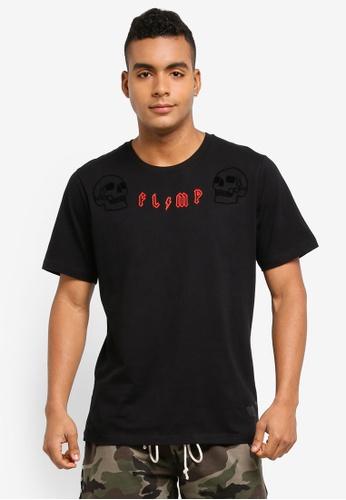 Flesh Imp black Exorcist Chain Stitch T-Shirt 8C70AAA269D3D6GS_1