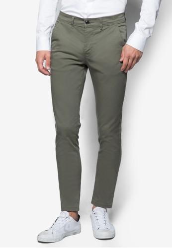 彈性貼身esprit 價位斜布長褲, 服飾, 長褲