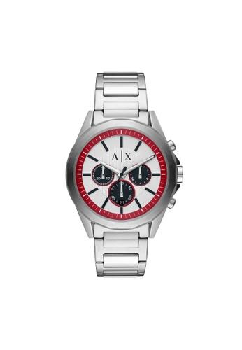 Armani Exchange silver Drexler Watch AX2646 9EBCBAC6B72BA6GS_1