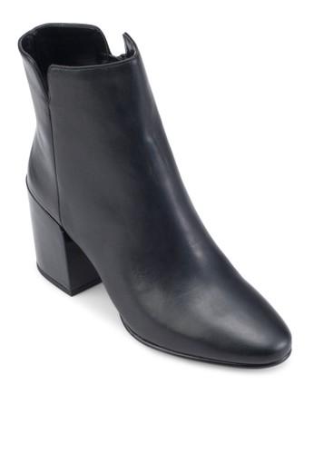 Sully 側拉鍊粗跟踝靴, 女鞋,esprit台灣官網 鞋