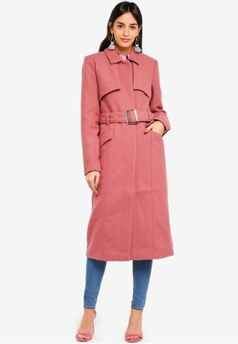 Y.A.S pink Carla Coat 2FACFAA1906521GS_1