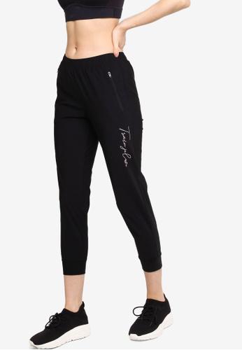 361° black Cross Training Sports Cropped Pants 1CB77AA6F228A9GS_1