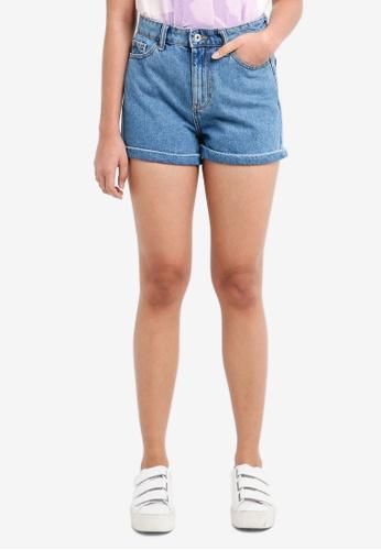 ONLY blue Lina Denim Shorts C0BA4AABC74229GS_1