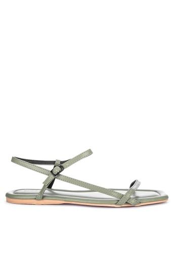 Primadonna green Strappy Sandals E5F0DSH04E8B6DGS_1