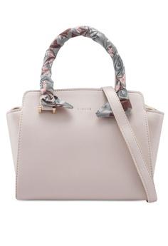 27469242b2b VINCCI beige Structured Hand Bag 06EF7AC2527CA4GS 1