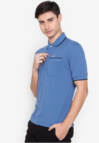 Le Tigre blue Men's Classic Polo Shirt FE014AA7DF1B52GS_1
