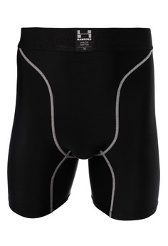 Athletic Mens Pro Compression Knee Length Shorts