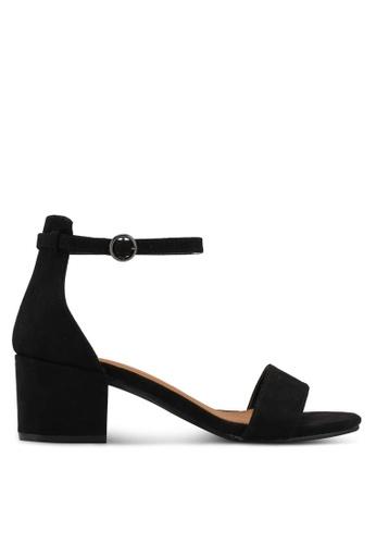 Rubi 黑色 Ivy Low Block Heels 6B56ESH94963B7GS_1