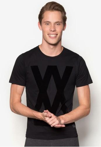 esprit 品牌雙X 字母T 恤, 服飾, 服飾