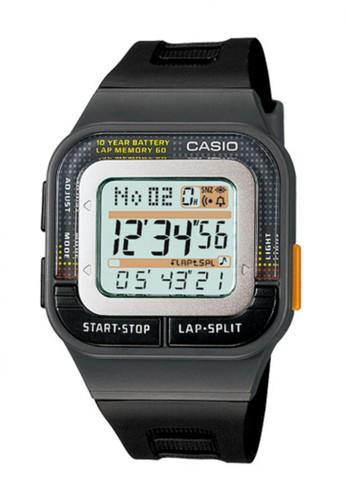 Casio Digital Jam Tangan Wanita - Hitam - Strap Karet - SDB-100-1A