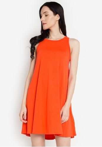 J&M orange Kay Dress JM006AA0KJ3DPH_1