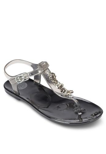 Cannes esprit 台中閃鑽夾趾涼鞋, 女鞋, 鞋