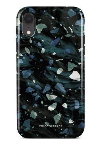 Polar Polar grey Nordic Terrazzo Gem Dual-Layer Tough Case Glossy For iPhone XR D140EAC0478E78GS_1