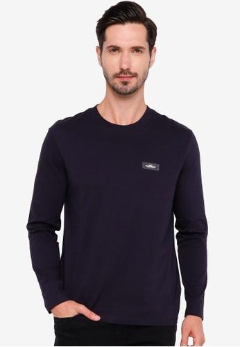 H&M blue Regular Fit T-Shirt 47818AAAB3D8C6GS_1