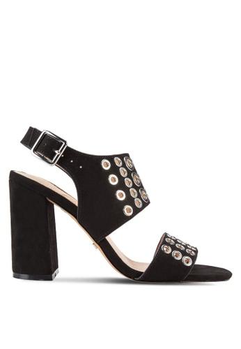 TOPSHOP black Nadia Rivet Heels TO412SH10RVHMY_1