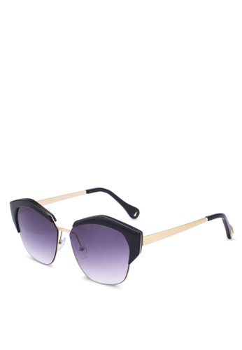 Dressing Paula black Irregular Rimmed Glasses 4DFF8GL705F3F2GS_1