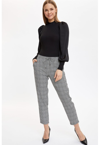 DeFacto white Woman Trousers 8D30BAA6BE5560GS_1