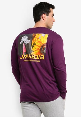 3c440dc916c5b2 Cotton On purple Tbar Long Sleeve Shirt 9B4F7AAB822877GS_1